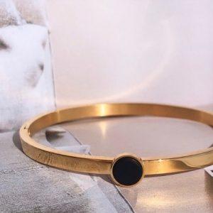 la Beij Armband Goud Zwart