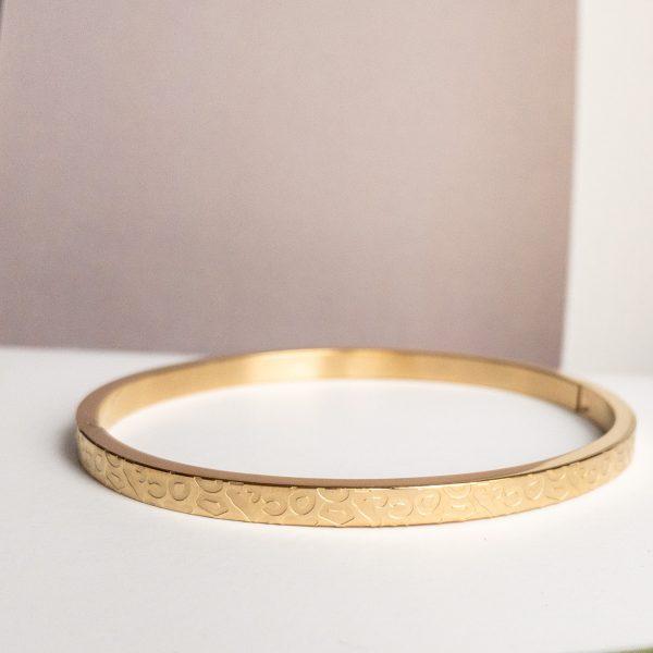 la Beij Armband Luipaard Goud