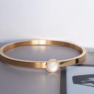 la Beij armband goud wit