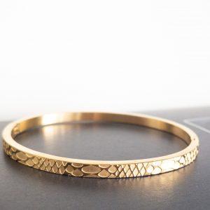 la Beij Armband Goud Slang
