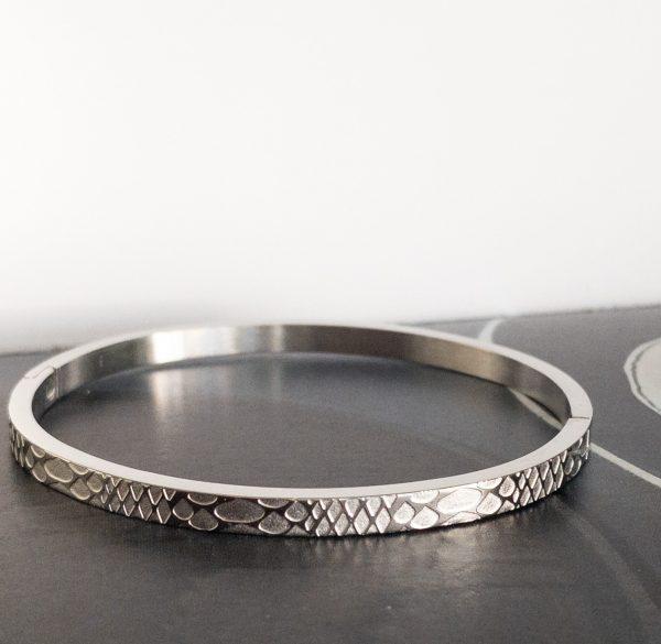 la Beij Armband Zilver Slang